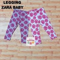 Celana Legging Zara Anak Bayi Perempuan/Cewek Baby Girl Motif Floral