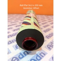 Roll Plat Gestetner 54,5x255 mm Sparepart Mesin Cetak Offset Gestetner