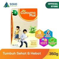 Curcuma Plus Susu Bubuk Ekstrak Temulawak - Madu 350g
