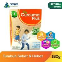 Curcuma Plus Susu Bubuk Ekstrak Temulawak - Vanilla 180g