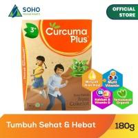 Curcuma Plus Susu Bubuk Ekstrak Temulawak - Coklat 180g