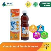 Curcuma Plus Grow Emulsion Syrup - Orange 400ml