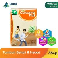 Curcuma Plus Susu Bubuk Ekstrak Temulawak - Coklat 350g