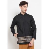 Jobb Mahuros Baju Koko Pria Traditional Look Lengan Panjang Black