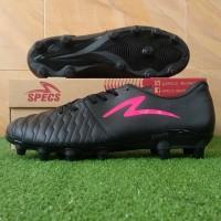 Specs Barricada Maestro Pro FG (Sepatu Bola) - Black/Diva Pink Neon