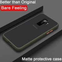 case matte macaron tpu hardcase case doff Samsung Galaxy S9 plus