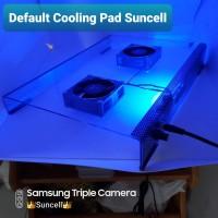 cooling pad laptop tahan 24 jam 6.000 Rpm angin TOPAN