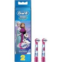Oral-B Kids Refill Heads Refil 2s, Soft, Power (Frozen), 2ct