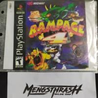 kaset game rampage 4 playstation 1