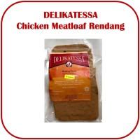 Delikatessa Chicken Meat Loaf Rendang Daging Ayam Rendang Halal