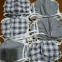 MASKER KAIN HIJAB HEADLOOP - masker tali - masker untuk yang berjilbab