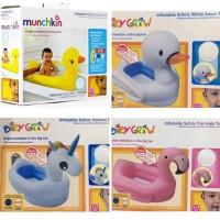 Munchkin Inflatable Duck Tub / Bak MAndi Bebek Bayi / Kolam Bebek Kare