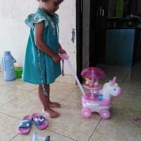 Mainan Anak Perempuan Gerobak Ice Krim/Unicorn Ice Cream Cart