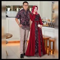 Set Cp Kamajaya Shintamaya New Motif!! Gamis Batik Couple Busui 6