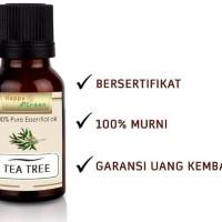 Happy Green Tea Tree Essential Oil (30 ml) - Melaleuca Alternifolia)