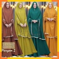 Maryam syari .baju gamis saryi muslim