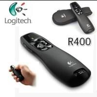 LOGITECH R400 LASER POINTER wireless PRESENTER resmi ori Murah Sale