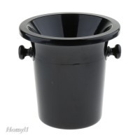 Plastic Wine Spittoon Bucket with Stand Black Party Fashion Ice