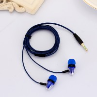 Headset Earphone Kabel Braided Subwoofer ACEW