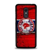 Casing Xiaomi Redmi 5 Boston Red Sox Grunge Baseball Clu