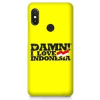 Casing Hardcase Xiaomi Mi Max 3 Damn I Love Indonesia P1066 Case C