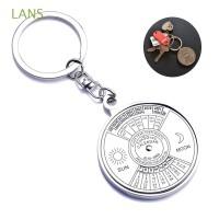 Kim2 2Pcs Gantungan Kunci Metal dengan Kalender untuk Camping /