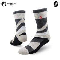 Stayhoops - Kaos Kaki Olahraga dan Fashion - Mount Black Performance