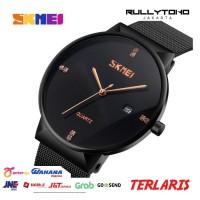 2771 - SKMEI Jam Tangan Analog Pria Stainless Steel - 9164 - Black