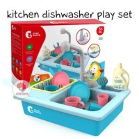 Zoetoys Kitchen Dishwasher Play Set | mainan edukasi | mainan anak