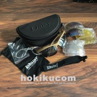Kacamata Hitam Outdoor Tactical Sunglass Daisy C3 UV Protection 4 lens