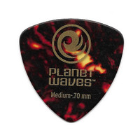 Planet Waves Celluloid WIDE Brown Shell Pick Gitar