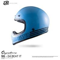 JP Retro Signature SGN- 04 Beat it Light Blue Doff
