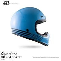 JP Retro Signature SGN- 04 Beat it Light Blue Gloss