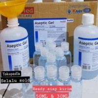 ASEPTIC GEL share in 30ml /HAND SANITIZER ANTISEPTIK