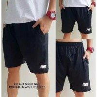 Celana Lari Bola Running Fitness Futsal Sepakbola Pocket Saku