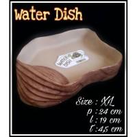 Waterdish XL / tempat minum kura darat/ sulcata/reptile/torto