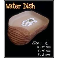 Waterdish L/tempat minum kura darat/ sulcata/reptile/torto