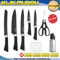 IL 160SE Pisau set Idealife / knive set with scissor elegant