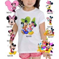 Kaos Baju tshirt anak Custom Mickey mouse