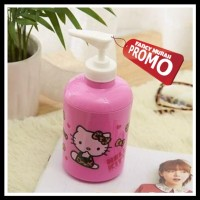 (PROM0) Botol Pump HELLO KITTY Pink