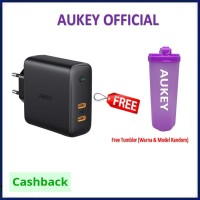 Aukey PA-D5 Dual-Port 60W PD Wall Charger with Dynamic Detect PAD5