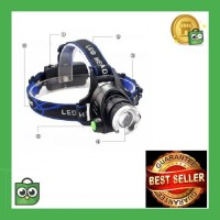 TaffLED High Power Headlamp LED Cree XML T6 + Charger - 568D - Black