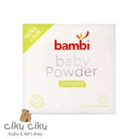 Bambi Baby Powder Compact 40gr / Bedak Padat Bayi