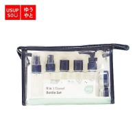 9 in 1 Travel Bottle Set