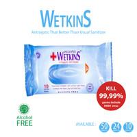Tissue Wetkins Antiseptic KILL 99,99% !!! 10's