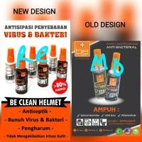 Parfum helm BE CLEAN multi fungsi Anti Bakteri wangi cleaner pembersih