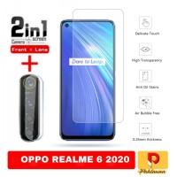 Paket Tempered Glass Oppo Realme 6 Screen Protection Anti Gores Kaca