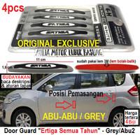 aksesoris pelindung pintu door guard ertiga exclusive grey / abu-abu