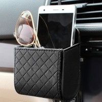 Car Air Vent Pocket Holder Kantong Serbaguna Organizer Mobil