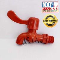 KERAN AIR/KRAN AIR CAMRY PLASTIK/PVC 1/2